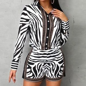 Zebra Print Set
